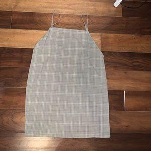 Checkered tobi dress
